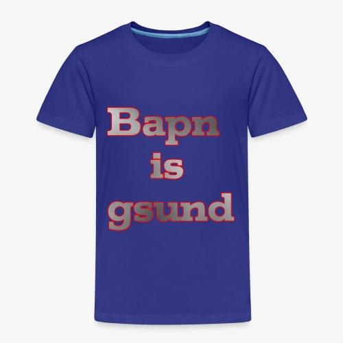 Bapn is gsund überarbeitetes Logo - Kinder Premium T-Shirt