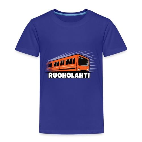 17 - METRO RUOHOLAHTI - HELSINKI - LAHJATAVARAT - Lasten premium t-paita