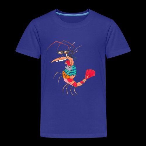 TheMightyShrimp - Børne premium T-shirt