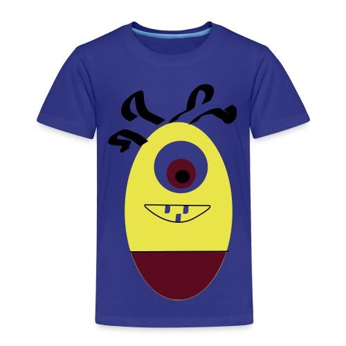 Gult æg - Børne premium T-shirt