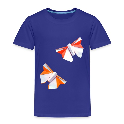 Butterflies Origami - Butterflies - Mariposas - Kids' Premium T-Shirt