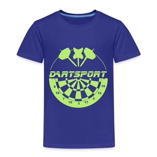 Dartsport Logo - Kinder Premium T-Shirt