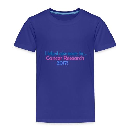 CANCER RESEARCH 2017! - Kids' Premium T-Shirt
