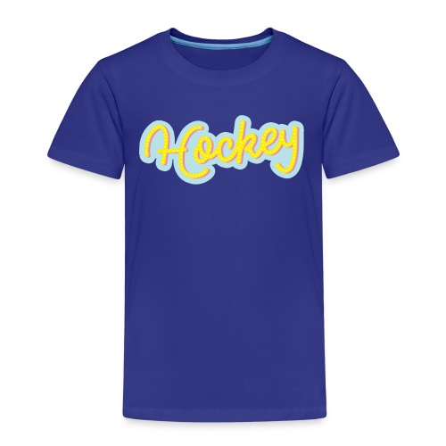 Hockeytier ::: Hockey Type - Kinder Premium T-Shirt