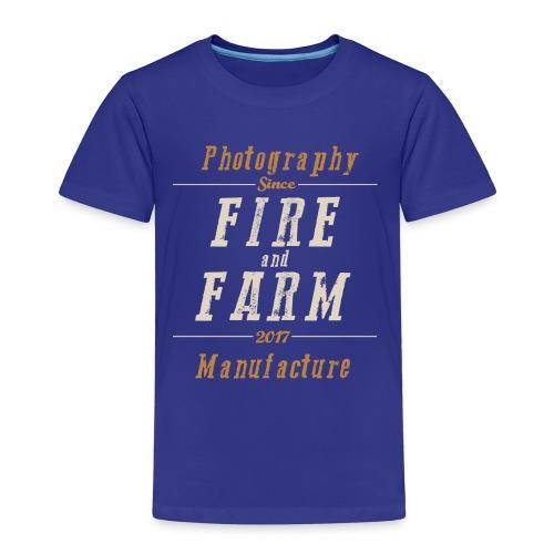 Fire and Farm - der Ausreißer - Kinder Premium T-Shirt