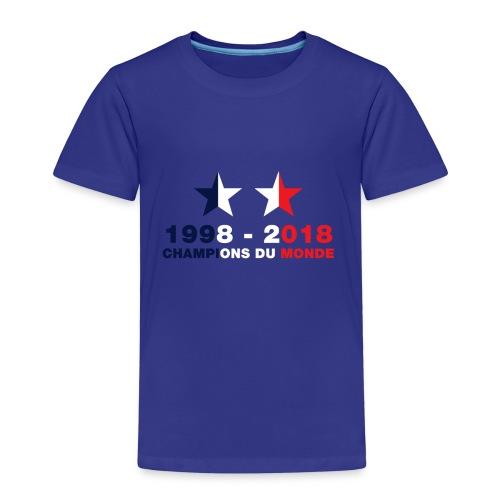 France - Champions du monde - 1998-2018 - T-shirt Premium Enfant