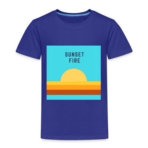 Sunset fire - T-shirt Premium Enfant