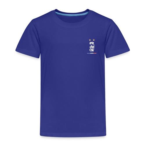 Champion du monde 1998 - 2018 france macaron - T-shirt Premium Enfant