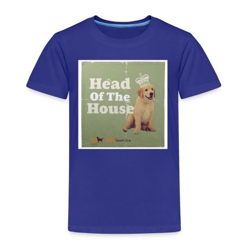 King Golden Retriever Puppy - Maglietta Premium per bambini