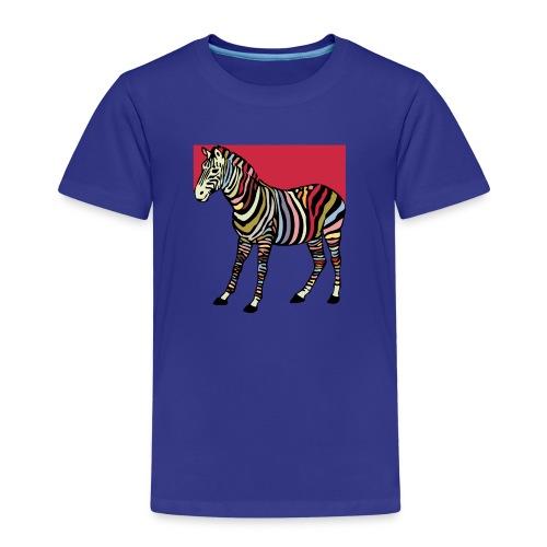 zebra tshirt design - Kids' Premium T-Shirt