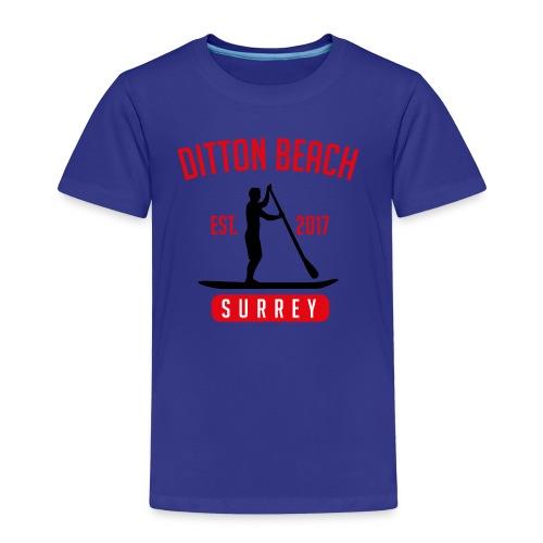 Ditton Beach Logo Final - Kids' Premium T-Shirt