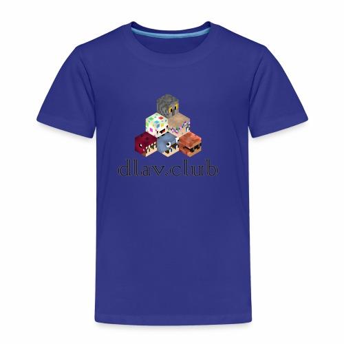 dlav.club Staff Pyramid - Kids' Premium T-Shirt