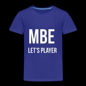 MBE-Let's Player Männer T-Shirt - Kinder Premium T-Shirt