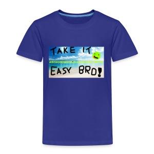 #BEGOODWITHLELLECHILEEESMUSIC - Premium-T-shirt barn