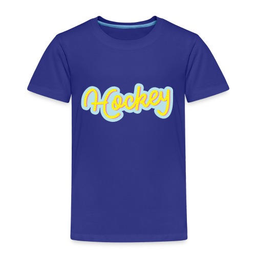 Hockeytier ::: Hockey Type - Kinder Premium T-Shirt