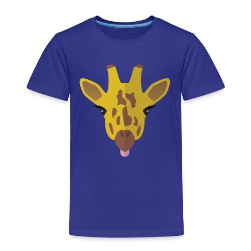 Funny Giraffe - Kinderen Premium T-shirt