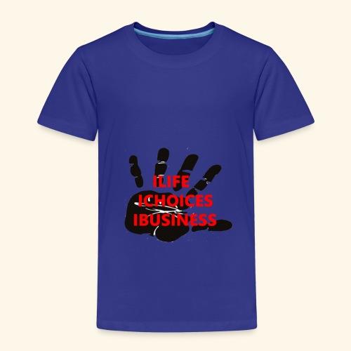 STOP ! C'EST MA VIE ; MES CHOIX ; MES AFFAIRES - T-shirt Premium Enfant