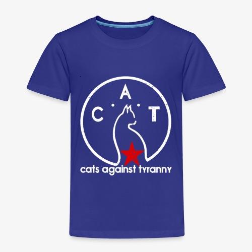 Political Protest Cat T-Shirt - Kids' Premium T-Shirt