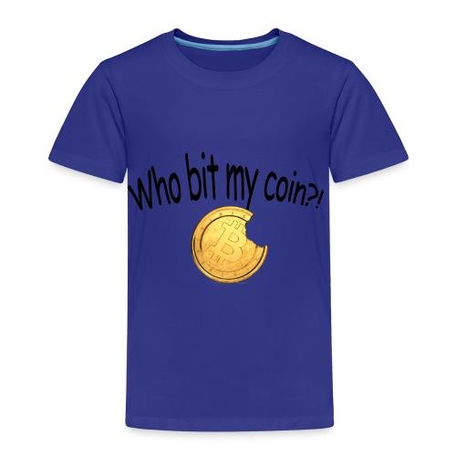 Bitcoin bite - Kinderen Premium T-shirt