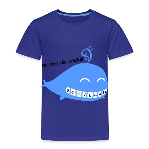 Du hast die Wa(h)l #GoVegan - Kinder Premium T-Shirt