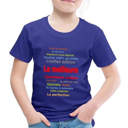 t shirt la meilleure sweat shirt coque et mugs - T-shirt Premium Enfant