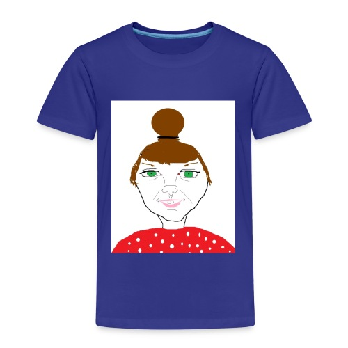 Bonny with a bun - Premium-T-shirt barn