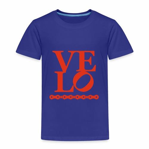 Bike Velo Love Fahrrad-Liebe - Kinder Premium T-Shirt