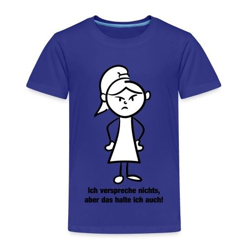 Ich verspreche - Kinder Premium T-Shirt