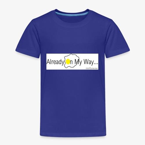 Already On My Way... - Kinderen Premium T-shirt