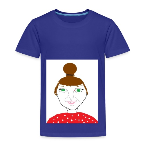 Bonny with a bun - Premium-T-shirt barn