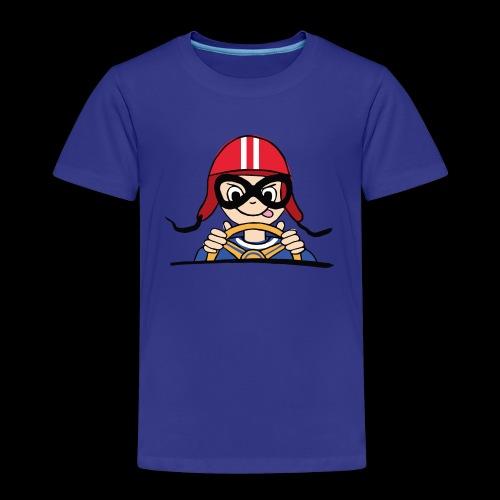 Rennfahrer - Kinder Premium T-Shirt