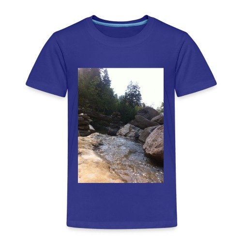 Bergbach1 - Kinder Premium T-Shirt