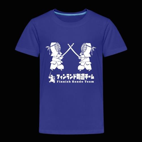fka team logo white - Lasten premium t-paita