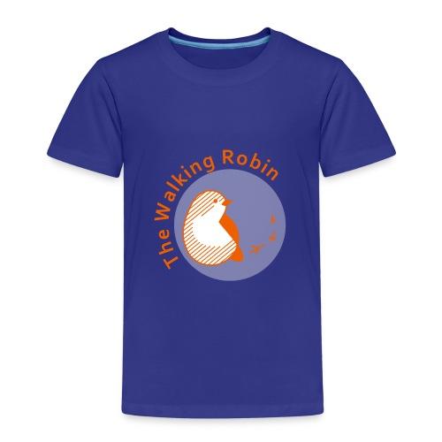 The Walking Robin logo - Maglietta Premium per bambini