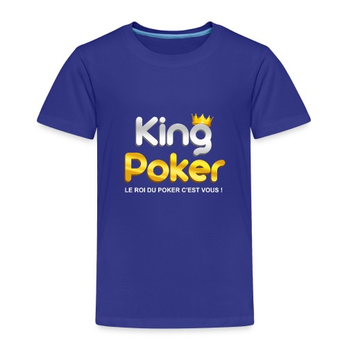 Logo King Poker - T-shirt Premium Enfant