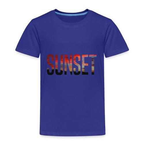sunset - T-shirt Premium Enfant