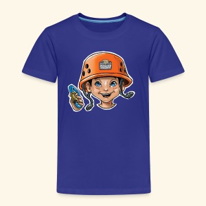 Little rock climber 2 - Kids' Premium T-Shirt