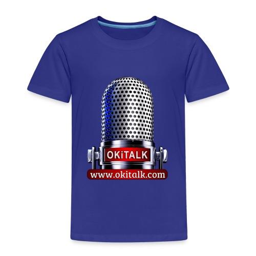 OKiTALK.com Logo - Mikrofon - Kinder Premium T-Shirt