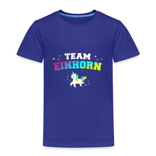 Team Einhorn - Kinder Premium T-Shirt
