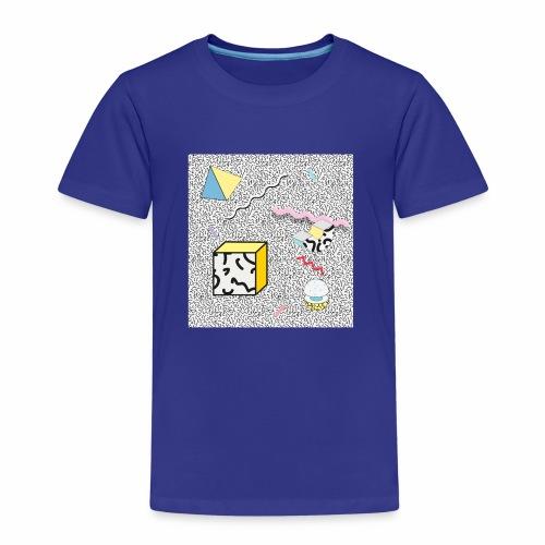 memphis design, Retro, Vintage, 80er Jahre - Kinder Premium T-Shirt