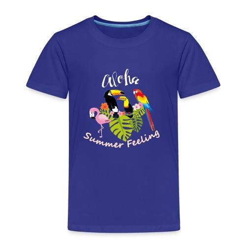 Summer Feeling - Kinder Premium T-Shirt