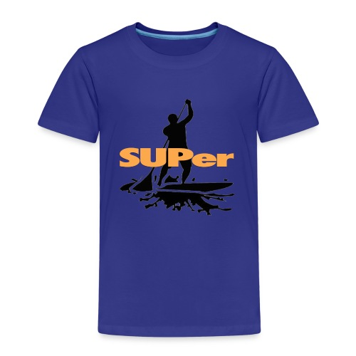SUPer, SUP BOARD Stand Up Paddling - Kinder Premium T-Shirt