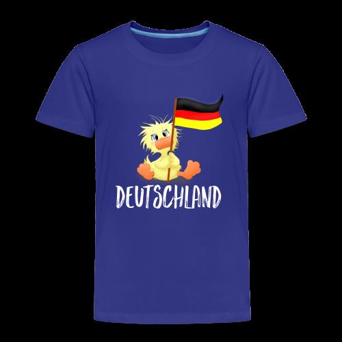 WEmmi Deutschland - Schrift in Weiß - Kinder Premium T-Shirt