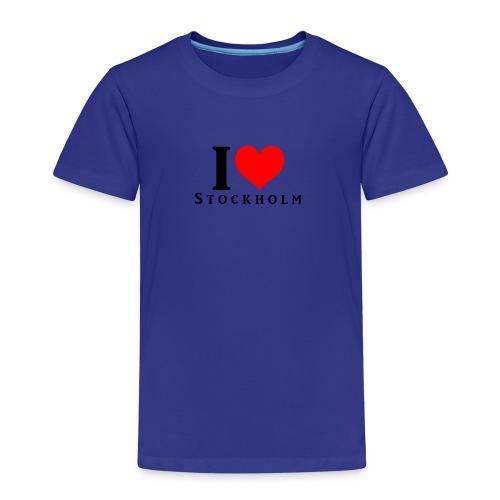 I love Stockholm - Kinder Premium T-Shirt