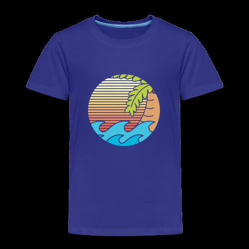 mar caribe - Camiseta premium niño