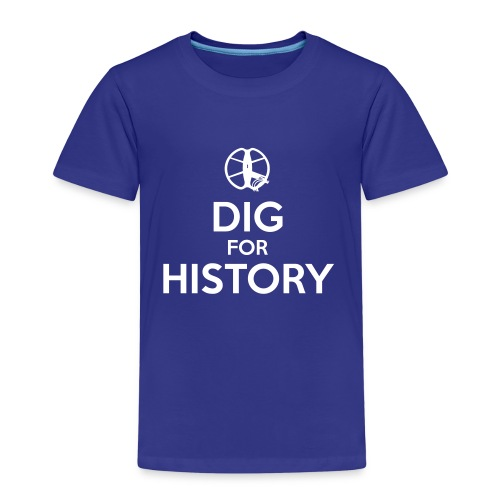 Dig for History 1 - by Detonateur - white - T-shirt Premium Enfant
