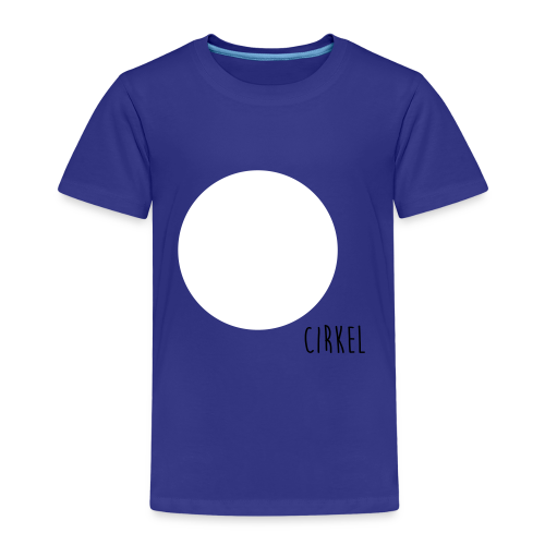 Cirkel Ekologisk T-shirt - Premium-T-shirt barn