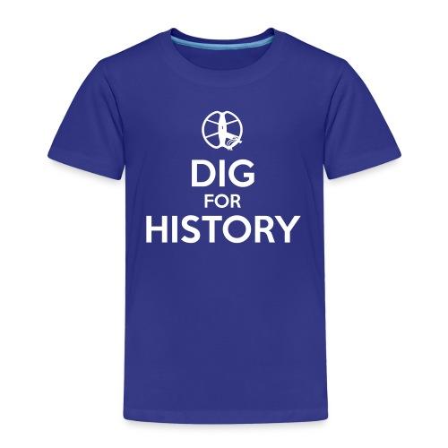 Dig for History 1 - by Detonateur - white - T-shirt Premium Enfant