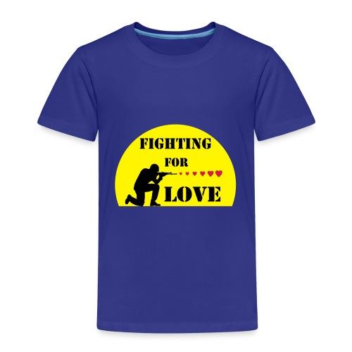 SOLDAT COEURS - T-shirt Premium Enfant