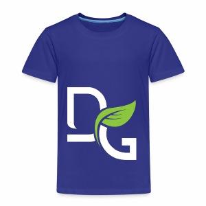 DrGreen Logo Symbol weiss grün - Kinder Premium T-Shirt
